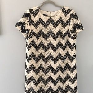 NWT Talbots Crochet Lined Dress